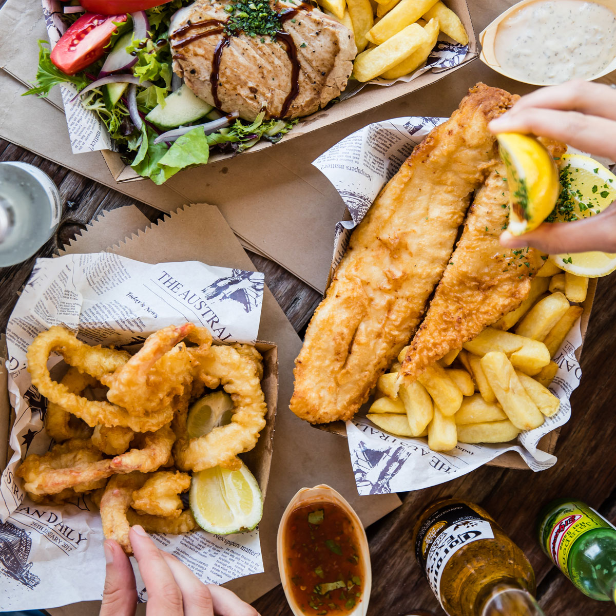 Waterfront Seafood Dining Central Coast - Weddings and Events Central Coast - Woy Woy Fishermen's Wharf