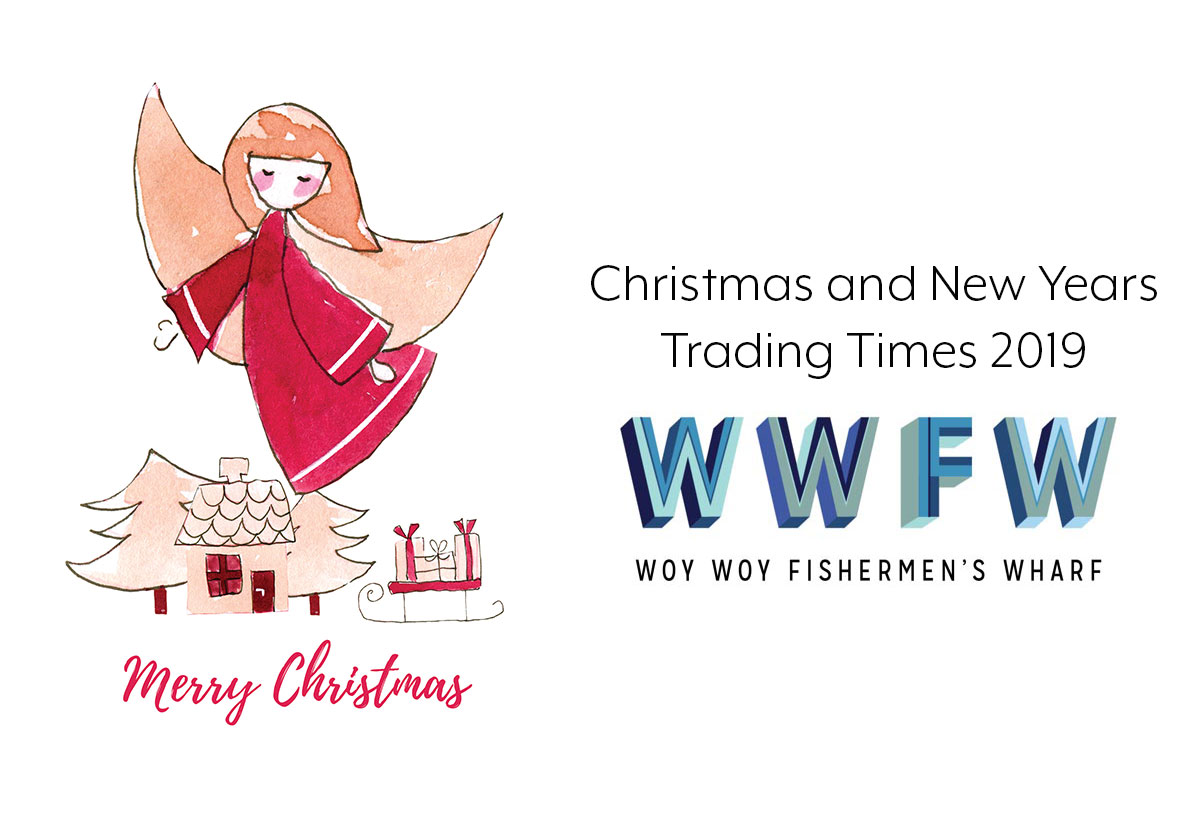 Merry Xmas from all of us at Woy Woy Fishermen's Wharf